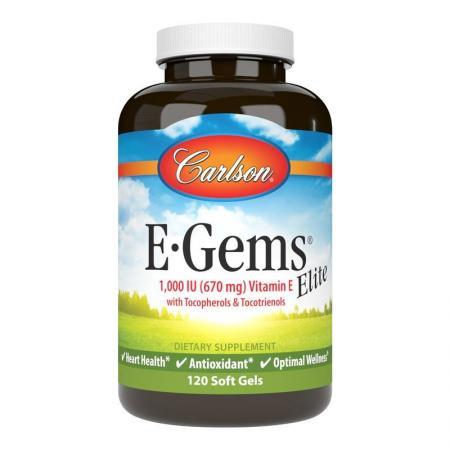 Carlson Labs E-Gems 1000 IU Elite, 120 капсул
