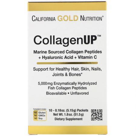 California Gold Nutrition CollagenUP, 10*5.15 грамм