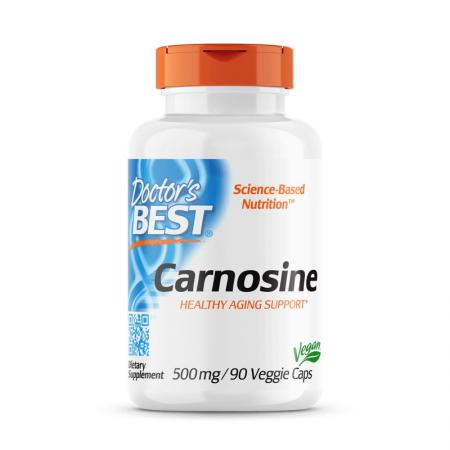 Doctor's Best Carnosine 500 mg, 90 капсул