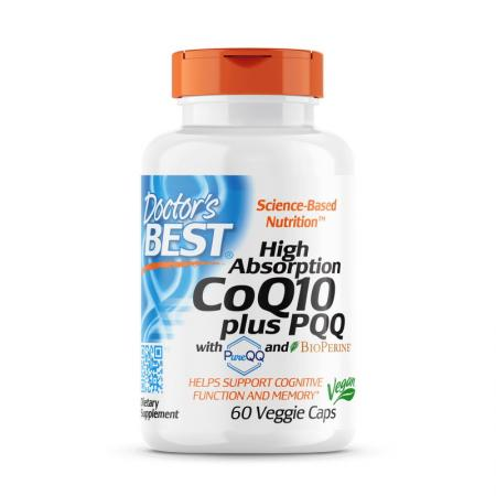 Doctor's Best CoQ10 plus PQQ High Absorption, 60 капсул
