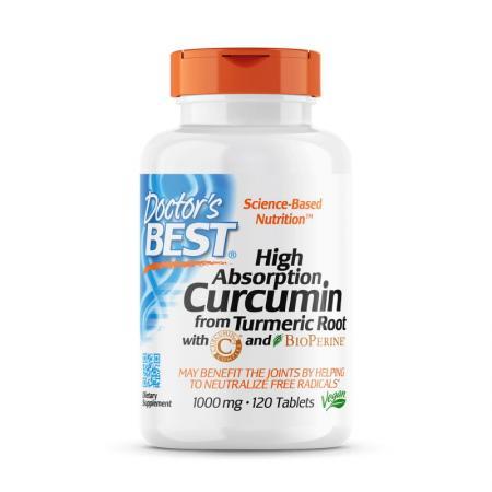 Doctor's Best Curcumin C3 Complex 1000 mg, 120 таблеток