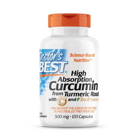 Doctor's Best Curcumin C3 Complex 500 mg, 120 капсул