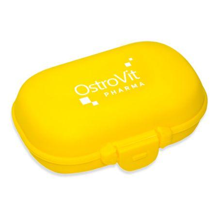 OstroVit Pharma Pill Box, желтая