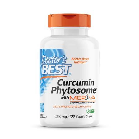 Doctor's Best Curcumin Phytosome, 180 вегакапсул