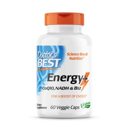 Doctor's Best Energy+, 60 капсул