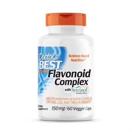 Doctor's Best Flavonoid Complex, 60 вегакапсул