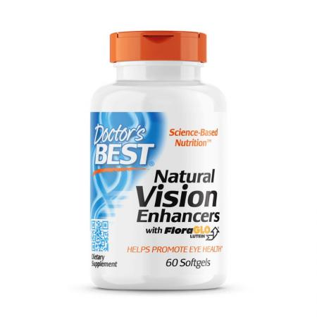 Doctor's Best Natural Vision Enhancers, 60 капсул