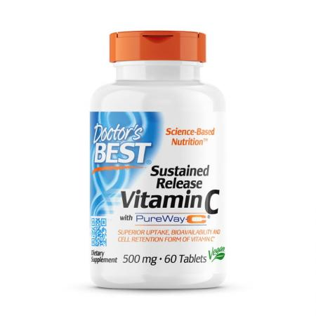 Doctor's Best Sustained Release Vitamin C, 60 таблеток