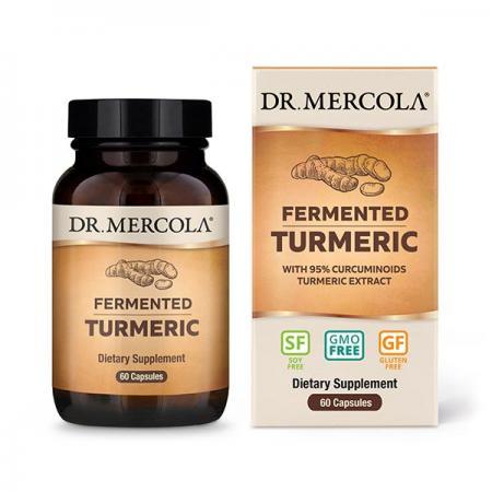 Dr. Mercola Fermented Turmeric, 60 капсул