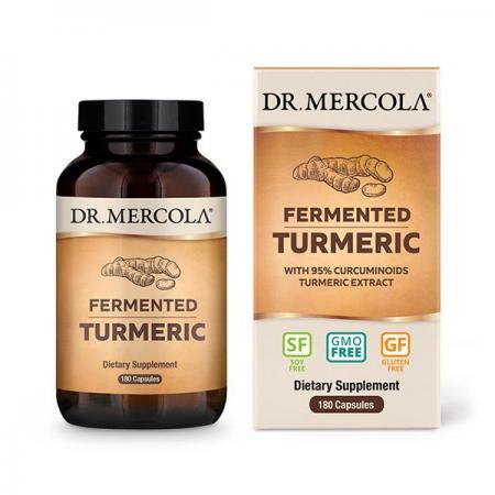 Dr. Mercola Fermented Turmeric, 180 капсул
