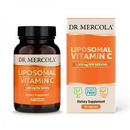 Dr. Mercola Liposomal Vitamin C 1000 mg, 60 капсул
