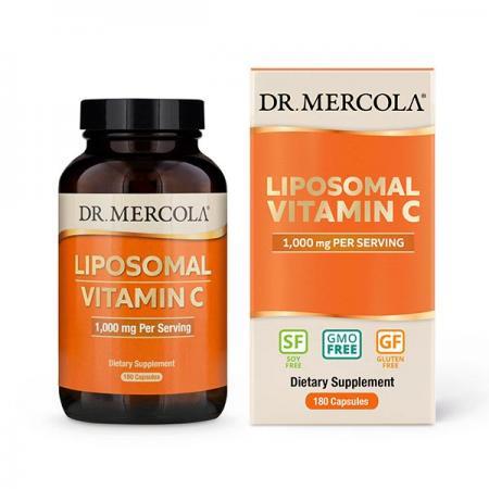 Dr. Mercola Liposomal Vitamin C 1000 mg, 180 капсул