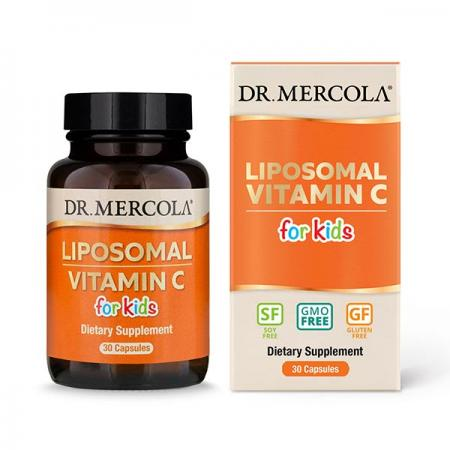 Dr. Mercola Liposomal Vitamin C for Kids, 30 капсул