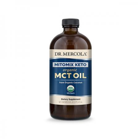 Dr. Mercola MITOMIX Organic MCT Oil, 473 мл