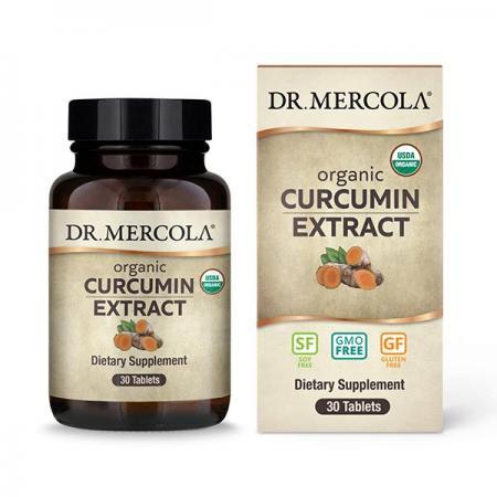 Dr. Mercola Organic Curcumin Extract, 30 таблеток