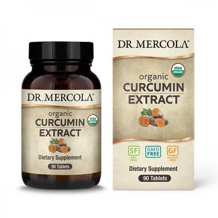 Dr. Mercola Organic Curcumin Extract, 90 таблеток