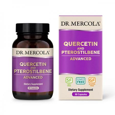 Dr. Mercola Quercetin And Pterostilbene Advanced, 60 капсул