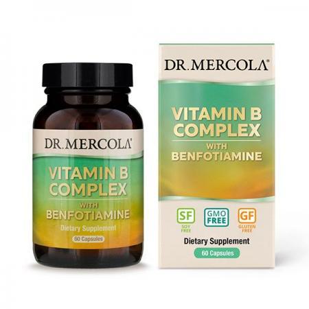 Dr. Mercola Vitamin B Complex, 60 капсул