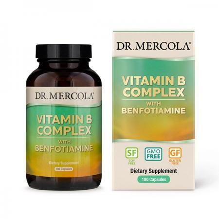 Dr. Mercola Vitamin B Complex, 180 капсул