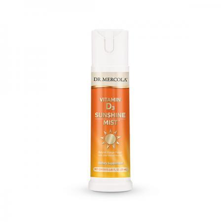 Dr. Mercola Vitamin D3 Spray, 25 мл