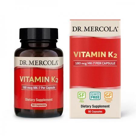 Dr. Mercola Vitamin K2, 90 капсул