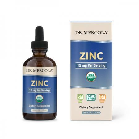 Dr. Mercola Zinc Liquid Drops, 115 мл
