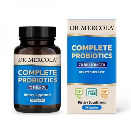 Dr. Mercola Complete Probiotics 70 Billion CFU, 30 капсул