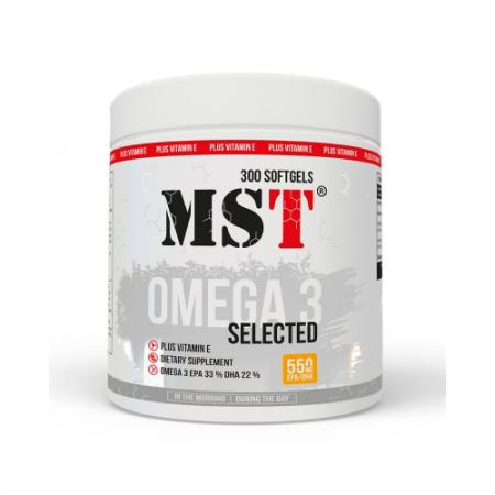MST Omega 3 Selected 55%, 110 капсул