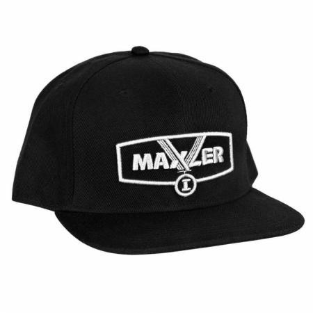 Кепка Maxler, черно-серебристая