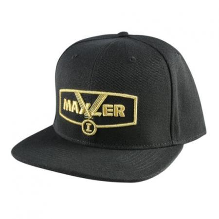 Кепка Maxler, черно-золотая