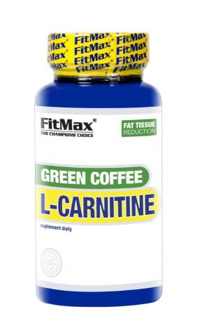FitMax Green Cofee L-Carnitine, 90 капсул
