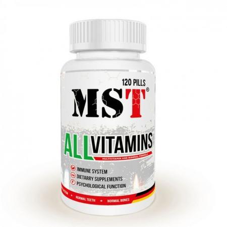 MST AllVitamins, 120 таблеток