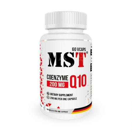 MST Coenzyme Q10 200 mg, 60 капсул
