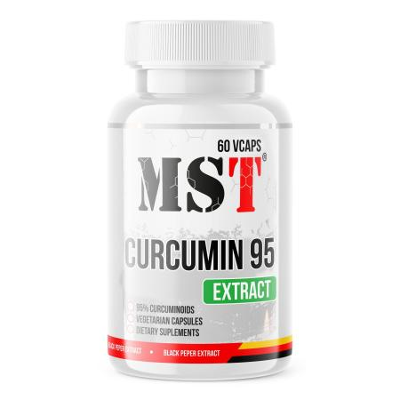 MST Curcumin 95 mg, 60 вегакапсул