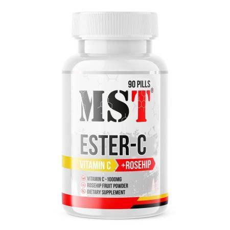 MST Ester-C, 90 таблеток