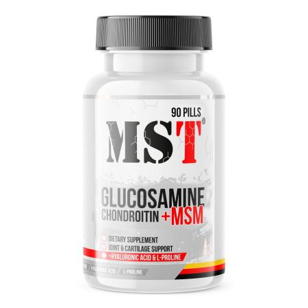 MST Glucosamine-Chondroitin-MSM, 90 капсул