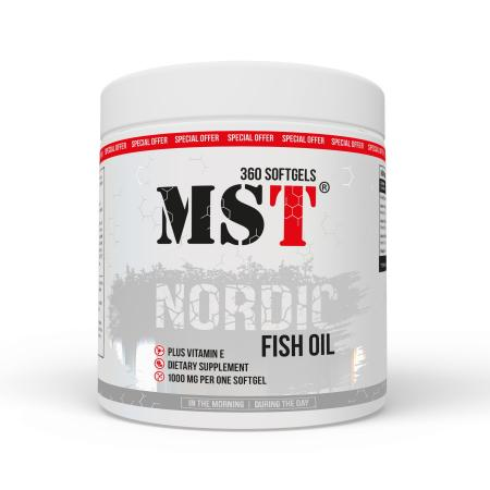 MST Nordic Fish Oil, 90 капсул