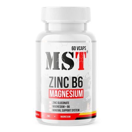 MST Zinc B6 Magnesium, 120 вегакапсул
