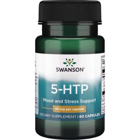 Swanson 5-HTP 50 mg, 60 капсул