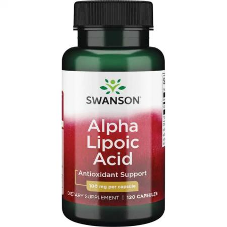 Swanson Alpha Lipoic Acid 100 mg, 120 капсул