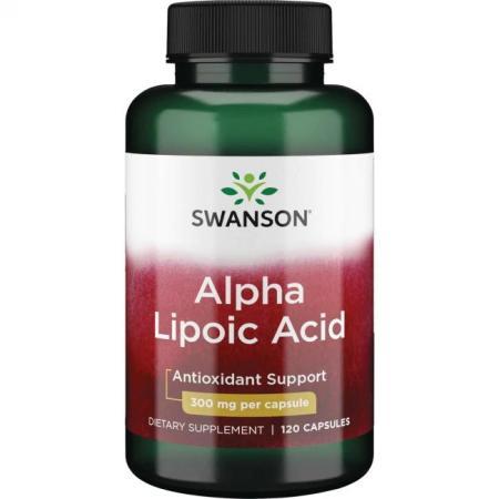 Swanson Alpha Lipoic Acid 300 mg, 120 капсул