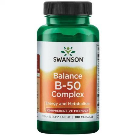 Swanson Balance B-50 Complex, 100 капсул