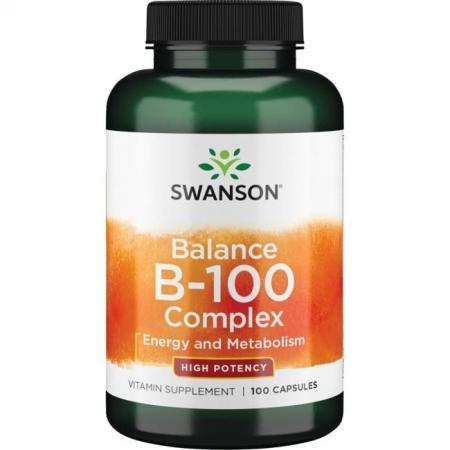Swanson Balance B-100 Complex, 100 капсул