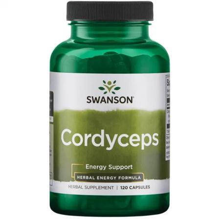 Swanson Cordyceps 600 mg, 120 капсул