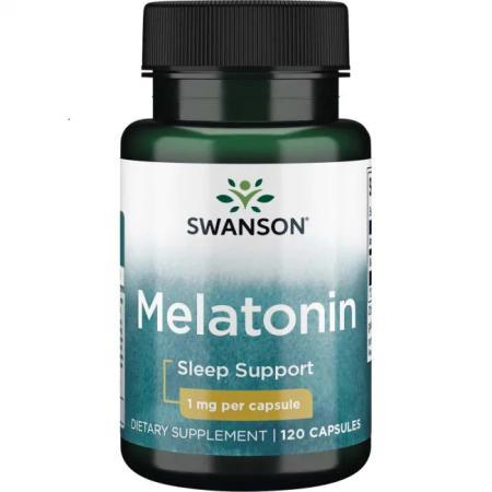 Swanson Melatonin 500 mcg, 60 вегакапсул
