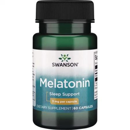 Swanson Melatonin 3 mg, 120 капсул