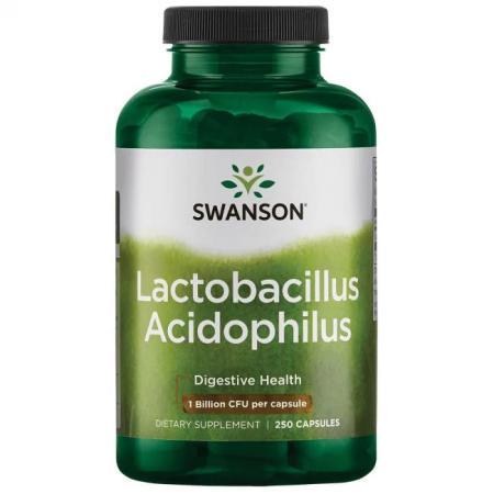 Swanson Lactobacillus Acidophilus, 250 вегакапсул
