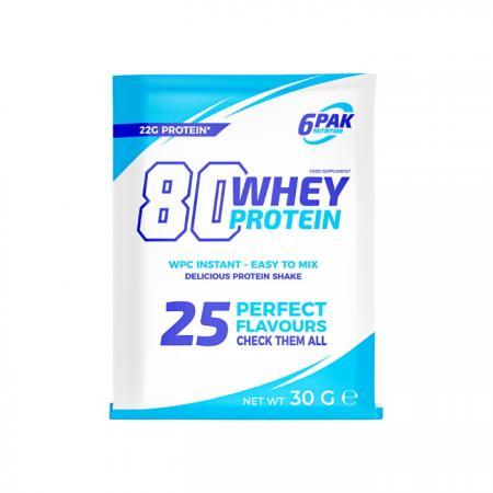 6PAK Nutrition 80 Whey Protein, 30 грамм