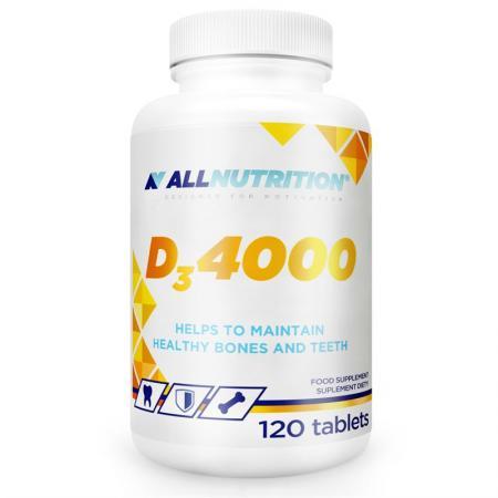 AllNutrition Vitamin D3 4000, 120 капсул
