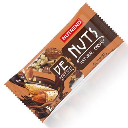 Nutrend DeNuts, 40 грамм, миндаль в черном шоколаде